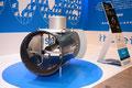 茨城製作所の水力発電機。施工性やデザイン性が高い