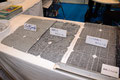リサイクル装置で分別された太陽光パネル素材(環境保全サービス)