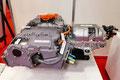 トヨタの燃料電池自動車(FCV)・「MIRAI」のFC昇圧コンバーターと水素電源ポンプ等のユニット
