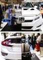 ホンダ:燃料電池車(FCV)「CLARITY FUEL CELL」のカットボディー