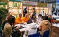 日本有機資源協会のブース