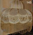 Абажур в вышивкой, вышитый абажур, абажур ришелье D-70, H-40