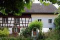 Hinterhoffasade Wohnhaus Altbau von Norden her gesehen