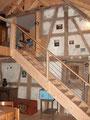 Treppe im Neubau