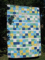 "Decke ""Lagunenfeeling"", RS aus BW beige [186x127 cm]"