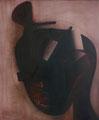 IKONA-CZARNA, OLEJ NA PŁÓTNIE, 120X100, 2008