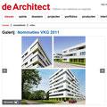 Notificatie op de Architect.nl