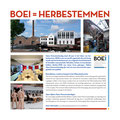 Aankondiging open monumentendag BOEI, auteur Jacqueline Verheugen