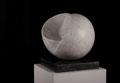 ZWEI UND DOCH EINS, 2012, Marmor, belgischer Granit, Höhe 22 cm