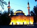При ближайшем рассмотрении мечеть просто пылает