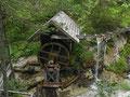 Mühlrad beim Abstieg zum Ötscherhias