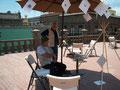 Atelier, terrasse du MAC