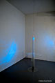 Altuglas, verre, laiton, sable, 315x80cm, 2012