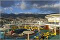 Funchal vom Deck der AidaBlu
