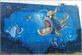 Wandgemälde in Gran Tarajal