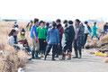 田代ジャパン閖上側溝捜索ボランティアバス(2014/3/16名取市閖上)