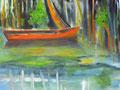 Elke König, Acryl auf Leinwand, 140 x 100 cm