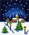 paysage de neige 1