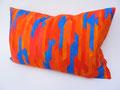 Maße: 40 x 60cm, handgefärbter Baumwollsatin