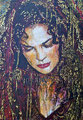 """The Seventh Veil ©2003, Acrylic on Canvas, Dimensions 18"""" w x 24"""" h, Private Collection"""