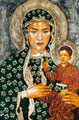 "Czestochowa ""A Toda Madre"" ©2008, Acrylic on Canvas, Dimensions 48"" w x 72"" h, Private Collection"