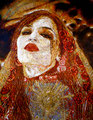 "Bodas de Sangre III ©2009, Acrylic on Canvas, Dimensions 24"" w x 30"" h, Private Collection"