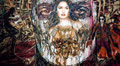 """Once Upon a Time in Mexico ©2001, Acrylic on Canvas, Dimensions 180"""" w x 96"""" h, Robert Rodriguez Collection"""