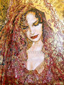 """Solame ©2006, Acrylic on Canvas, Dimensions 36"""" w x 48"""" h, Private Collection"""
