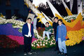 "Academia de Arte Yepes students with their ""Rose Parade"" Float Design for the City of Los Angeles • Pasadena, CA  USA"