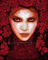 "Terra Nostra ©2010, Acrylic on Canvas, Dimensions 24"" w x 30"" h"