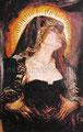 "La Dolorosa ©1997, Acrylic on Canvas, Dimensions 48"" w x 89"" h, Cheech Marin Collection"