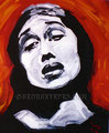 """The Disappeared ©1992, Acrylic on Canvas, Dimensions 36"""" w x 48"""" h, Private Collection"""