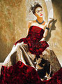 """Frida de Montparnasse ©2011, Acrylic on Canvas, Dimensions 36"""" w x 48"""" h, Private Collection"""