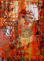 """Judith Series III ©2008, Acrylic on Canvas, Dimensions 30"""" w x 40 3/4"""" h, Private Collection"""