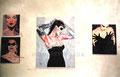 Dia De Los Muertos Series ©1988, Acrylic on Canvas, Private Collection
