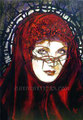 """The Magdalena ©2004, Acrylic on Canvas, Dimensions 24"""" w x 36"""" h, Private Collection"""