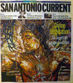 San Antonio Current Cover Story by Wendi Kimura, Arts Editor, at George Yepes' #111 Blue Star Studio, Blue Star Contemporary Arts Complex, San Antonio, Texas  USA