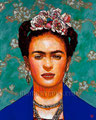 "Frida II ©2010, Acrylic on Canvas, Dimensions 24"" w x 30"" h, Private Collection"