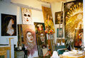 George Yepes' #111 Blue Star Studio, Blue Star Contemporary Arts Complex, San Antonio, Texas  USA