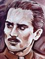 "Vito ©1983, Acrylic on Canvas, Dimensions 18"" w x 24"" h, Private Collection"