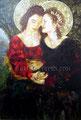 """Italia y Germania ©2004, Acrylic on Canvas, Dimensions 48"""" w x 72"""" h"""