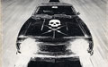 """Death Proof ©2006, Acrylic on Illustration Board, Dimensions 36"""" w x 42"""" h, Quentin Tarantino Collection"""