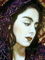 """Issa Dolorosa ©2000, Acrylic on Canvas, Dimensions 24"""" w x 30"""" h, Robert Rodriguez Collection"""