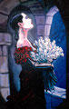"Lunar Romance ©1989, Acrylic on Canvas, Dimensions 36"" w x 54"" h, Private Collection"