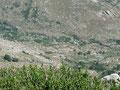 Abstieg vom Monte Incudine zur Refuge de Asinao