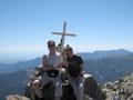 Gipfelglück am Monte d'Oro