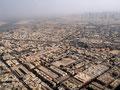 Dubai  von oben - exorbitant reiche Wüstenstadt