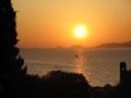 Sonnenuntergang in der Bucht von Ajaccio