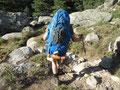 Versteckt - der Rucksack wird nicht kleiner