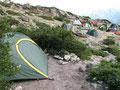Camping an der Refuge de Usciolu